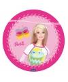Barbie roze bordjes