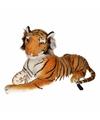 Pluche bruine tijgers 70 cm