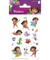 Dora stickers op 3 velletjes