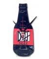 Wanddecoratie Duff fles klok