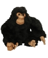 Luxe pluche chimpansee 25 cm