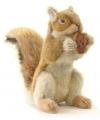 Realistische eekhoorn knuffel 22 cm