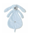 Knuffel tuttel konijn blauw 25 cm