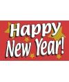 Jaarwisselings vlaggen Happy new year!