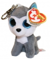 Ty Beanie Boo sleutelclip husky 12 cm