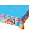 Plastic K3 tafelkleed 130 x 180 cm