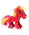 Keel Toys pluche paard knuffel roze 18 cm