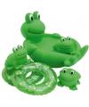 Speelgoed bad kikkers 4 stuks
