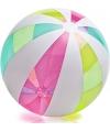 Neon strandballen groot 107 cm