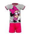 Minnie Mouse zonnebril korte pyjama meisjes grijs