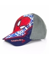Spiderman kinderpetten navy blauw