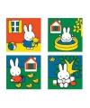 Vier Nijntje puzzels voor kinderen