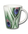 Pauwen thema koffie/thee mok 350 ml