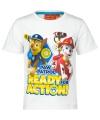 Wit Paw Patrol t-shirt voor kinderen