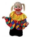 Peuter clowns verkleed ponchos