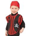 Peuter piraten verkleed ponchos