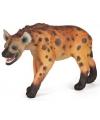 Plastic hyena 11 cm