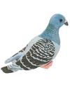 Knuffelbeest blauwe duiven 24 cm