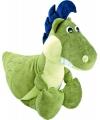 Pluche dino knuffel groen 50 cm