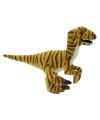 Velociraptor dino knuffeldier 32 cm