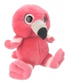 Pluche flamingo knuffel 19 cm