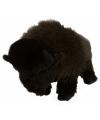 Staande knuffel bizon 30 cm