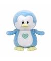 Babyshower jongetje knuffel Ty Baby blauw pinguin Twinkles 17 cm