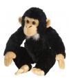 Speelgoed knuffel chimpansee 30 cm