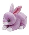Pluche knuffel paars konijn/haas Ty Beanie Dash 33 cm