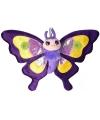 Speelgoed knuffel paarse vlinder 38 cm