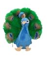Pauwen knuffel 25 cm