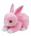 Pluche knuffel roze konijn/haas Ty Beanie Walker 33 cm