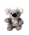 Koala knuffel kado 11 cm met ruimte voor tekst