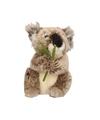 Grijze Koala knuffel 17 cm