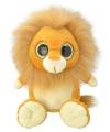 Pluche leeuw knuffel 18 cm