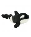 Orka knuffel met kraalogen 18 cm