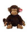 Pluche apen knuffel bruin 33 cm