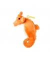 Pluche zeepaardje met lus 15 cm