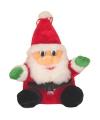 Pluche kerstman knuffel 27 cm