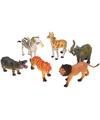 Plastic dieren safari park