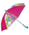 Smurfin paraplu meisjes 65 cm