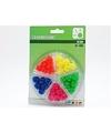 Plastic spaakkralen 30 stuks