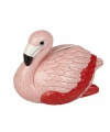 Spaarpot flamingo 16 cm