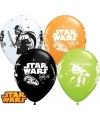 Verjaardag ballonnen van Star Wars 6x