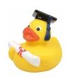 Bad speelgoed eend diploma geslaagd