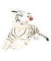 Pluche witte tijgers 70 cm
