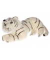 Knuffeldier witte tijger 40 cm