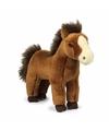 WNF paarden knuffel donkerbruin