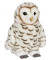 Knuffeldier sneeuwuil wit 22 cm
